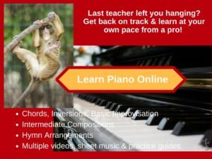 Learn Piano Online Deborah Johnson