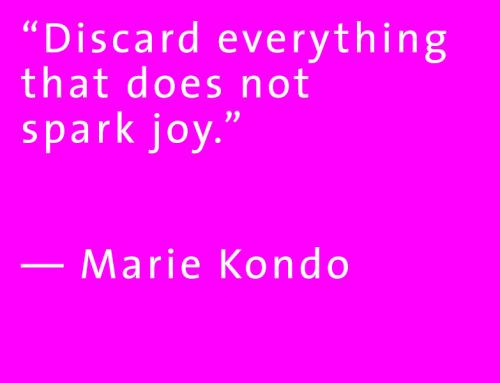 Marie Kondo-Magic of Tidying