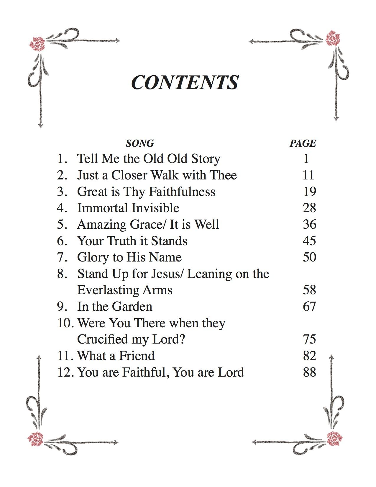 photo regarding In the Garden Hymn Printable named Printable Sheet Tunes - Deborah Johnson