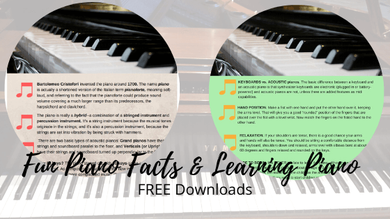 Fun Piano Facts-Learning Piano-Deborah Johnson