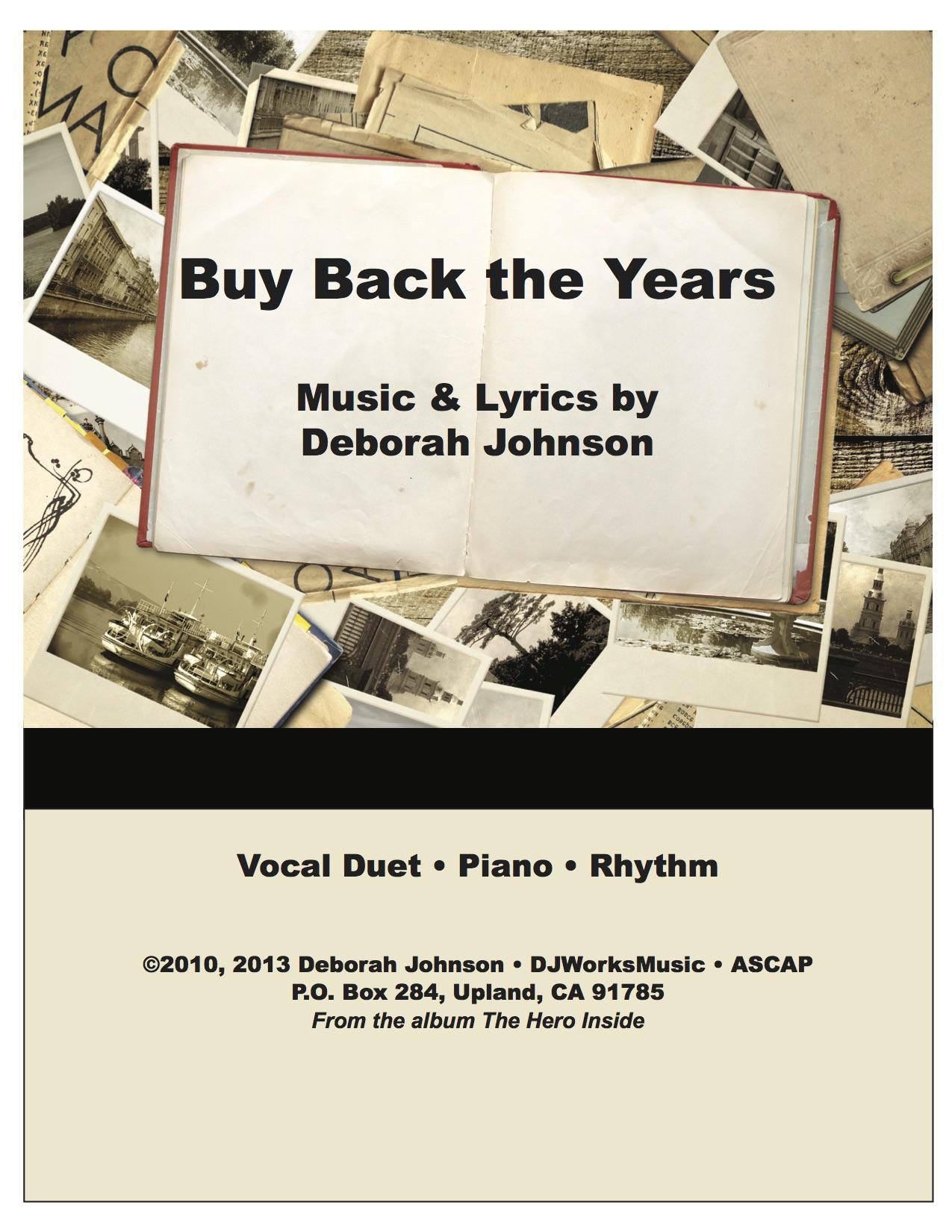 Buy Back the Years-Deborah Johnson