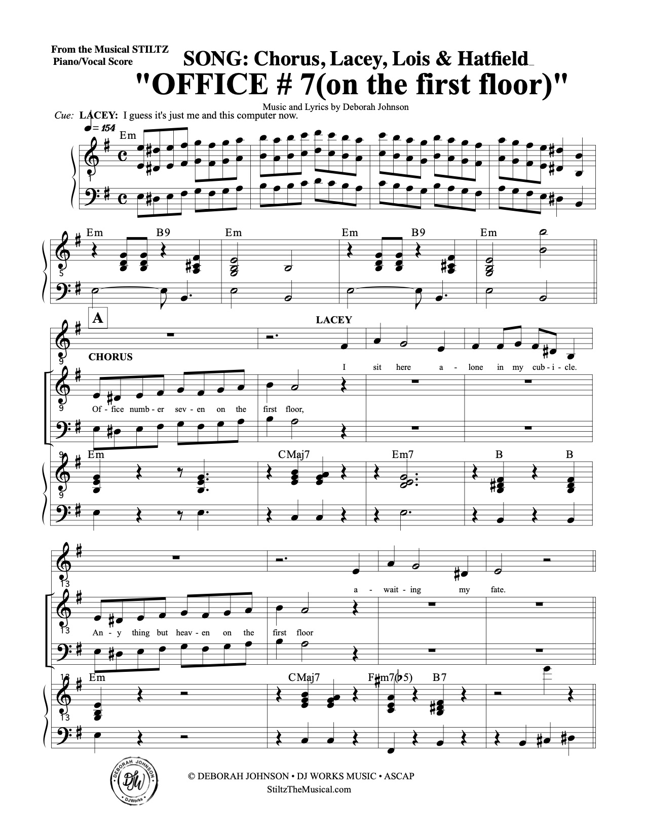 Office #7 pg.1- Stiltz the Musical